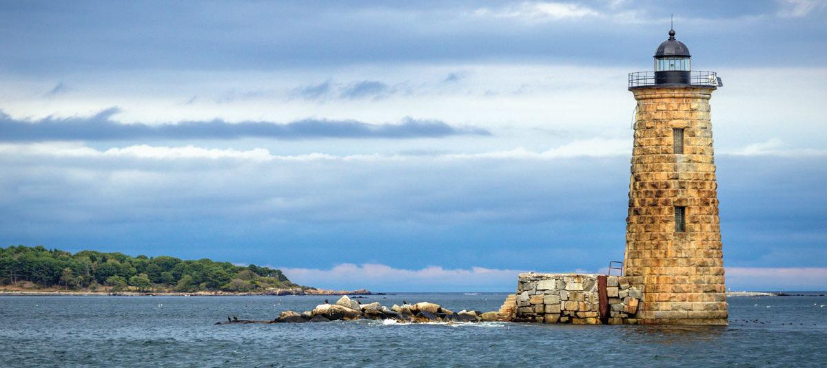 Whaleback Lighthouse, Kittery Point