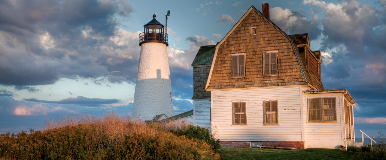 Wood Island Lighthouse, Biddeford Pool
